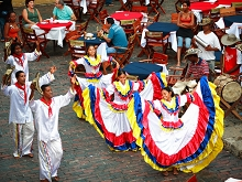 Folklore in Cartagena